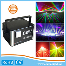 Most popular outdoor rgb laser projector christmas lights 10w-15W cheap disco laser