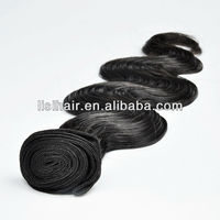 Hot Fashion Grade 5A Full Cuticels Unprocessed Body Wave remy myanmar human hair