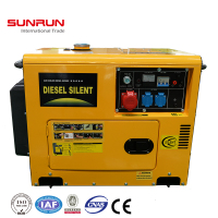 super silent 5kw portable power mini diesel generator 6.5kva