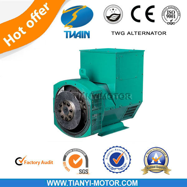 TWG series ac synchronous brushless alternator generator