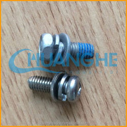China manufacturer fasteners hexagon with column drive screws