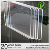 laser cut pmma 2.8mm 3mm scratch resistant acrylic board for ice hockey
