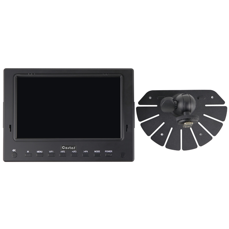 Portable 7 Inch TFT LCD screen support SDI CCTV test HD Monitor