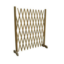 Fir Wood Expandable Fence