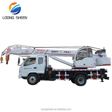 construction machine manual boom type dump truck with crane LXQY-8