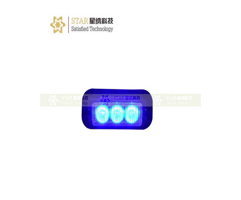 led warning strobe light for police motorcycle, surface mount, waterproof