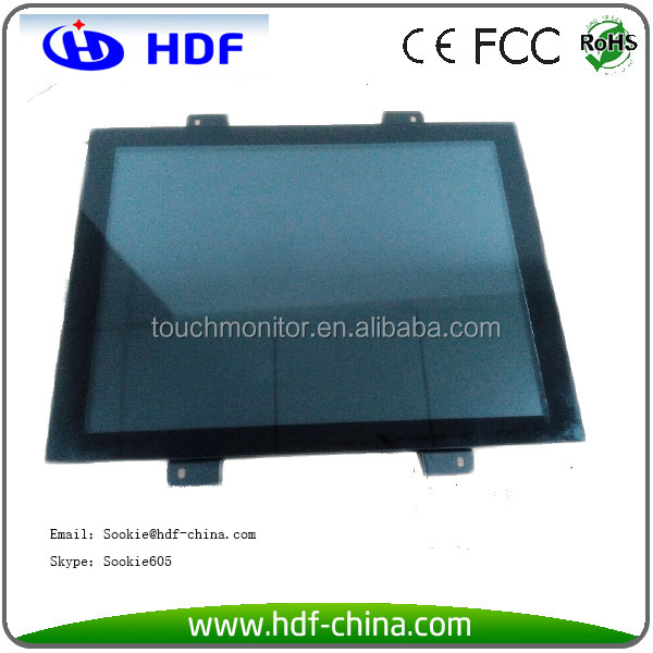 Industrial 17 inch Open Frame Capacitive Touch Screen Monitor for Raspberry PI 2 Linux System
