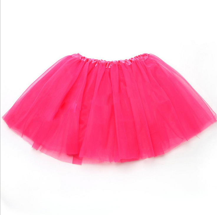 2016 kids tutu skirts cheap hot pink tutu skirts