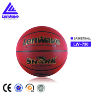 Wholesale new design high quality cheap price PU leather students match teams basketball