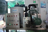 Snowell CE Approved 1T/24hrs Salt/Fresh Water Flake Ice Machine for Sale Used in Fishing Boats Restaurants Hotels Farms