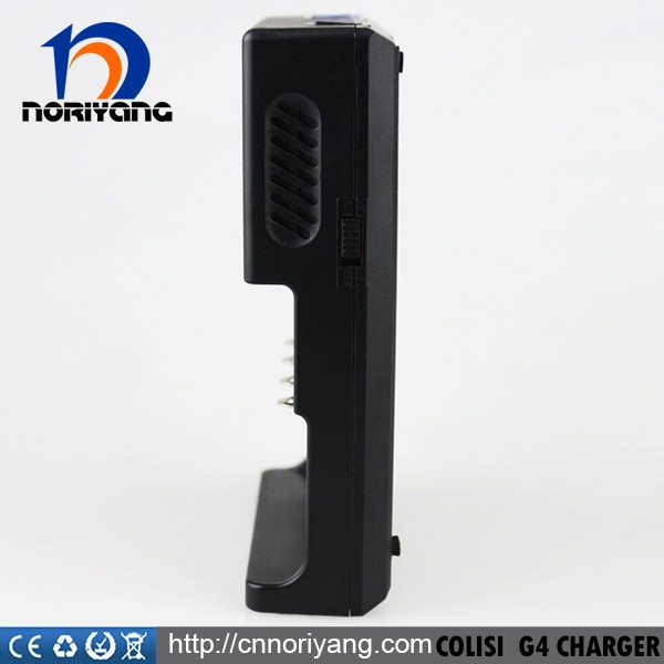 Good quality battery charger Golisi L4 battery charger LED show for 18650/18350/aa/aaa/Nicd / charger