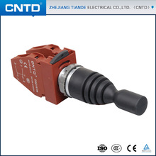 CNTD Hot selling IP65 Rated 22mm 2-direction spring return 1NO per direction Joystick Controller (C2MN-T2)