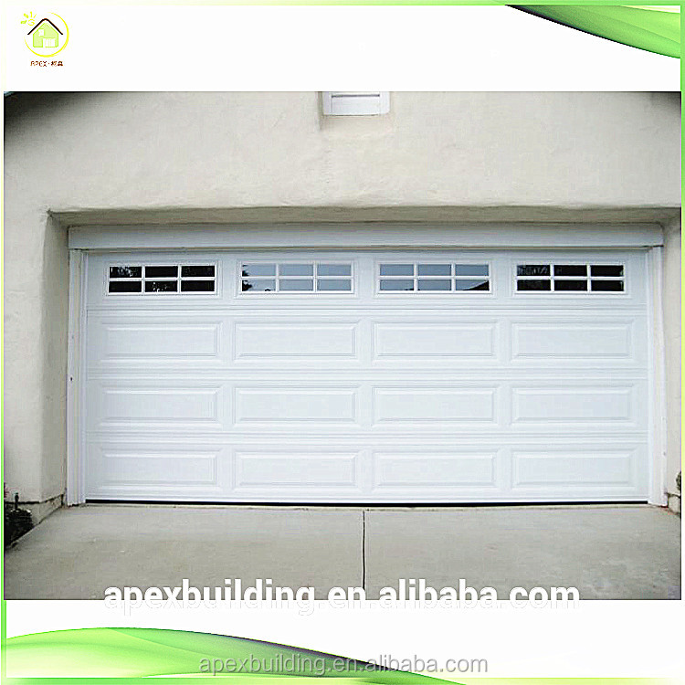 2016 hot sale automatic single panel door garage door