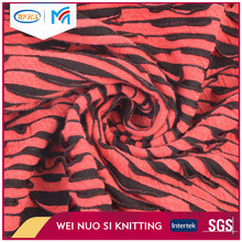 OEM design fashionable jacquard style wholesale stripe garment fabric