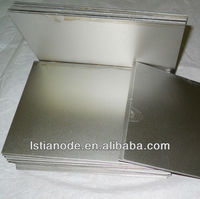 brushed nickel sheet metal
