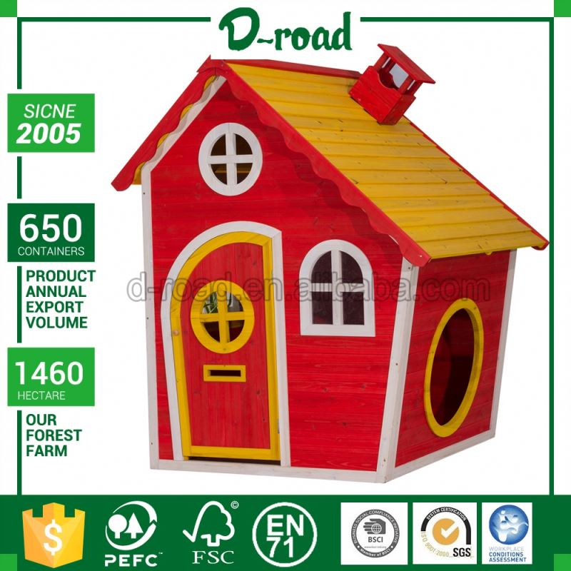 New Design Solid Wood Fabric Play House