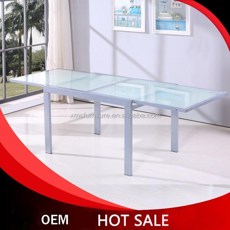 cheap glass dining table gerneral use modern design home furniture