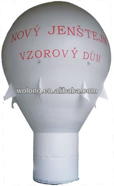 large durable inflatable floating advertising balloon
