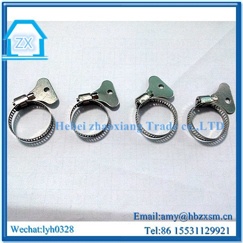 Spare Parts TS16949 Certificated Good Material america type hose clamp with handle