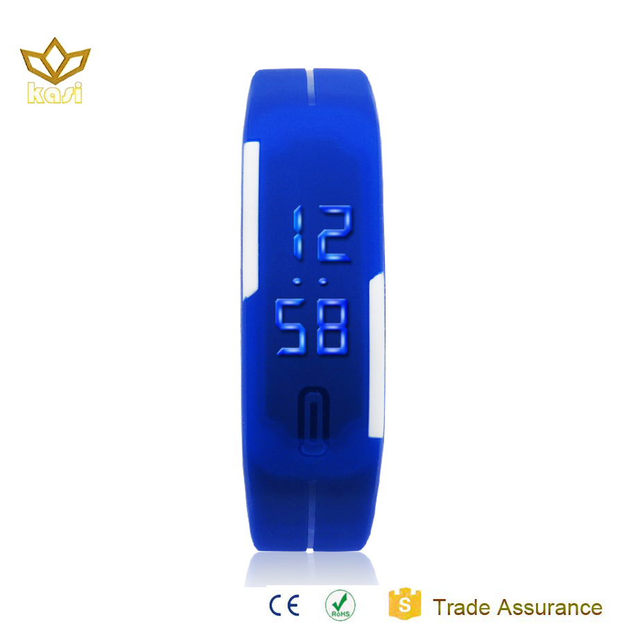 2017 Christams OEM factory price children gift Products china Led bracelet watch led watch led slap watch 9002