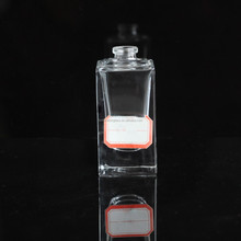 Manufacturer 30ml hot sale square perfume glass bottle factory sale