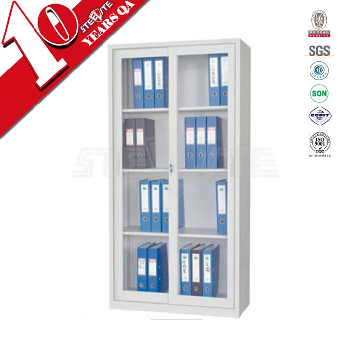 Bücherregal mit glastüren modell glasschiebetür