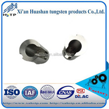 Tungsten alloy groove round bar with 0.65kg/piece