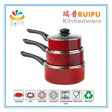 Good price colorful die cast aluminum used in kitchen set casserole cookware sets