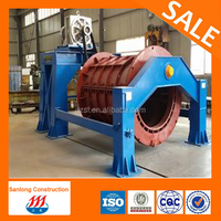 manhole concrete drain pipe making machine