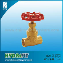 brass stem gate valve for welding