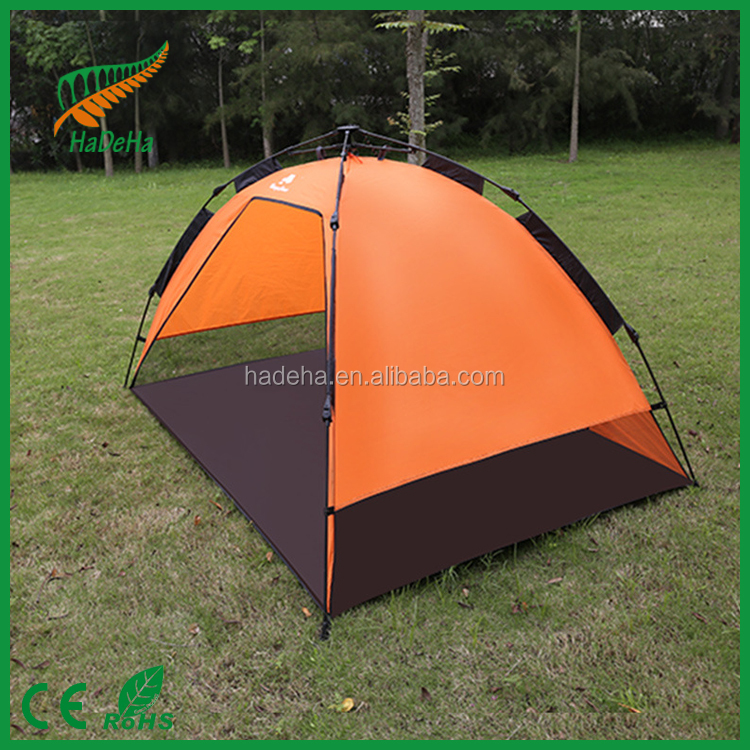 Waterproof 2-3 Person Family Camping Instant Tent Hiking Outdoor Tent for camping/ waterproof camping tent