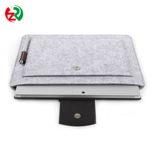 High quality custom laptop sleeve handmade cheap shockproof universal felt tablet case