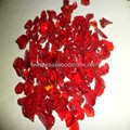 Red glass rock for gabion