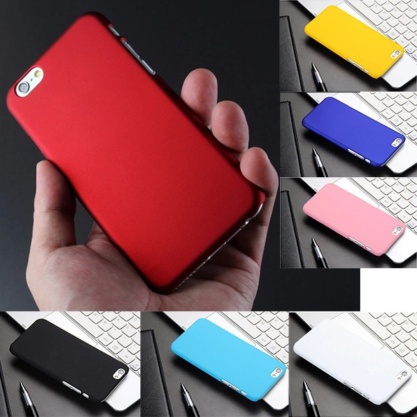 Matte Ultra-Thin Rubberized Hard Shell Back Cover Case for Apple iPhone 6