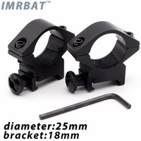 IMRBAT Scope Mounts accessories for tactical flashlight torch and 007 hunting equipment diameter 25mm