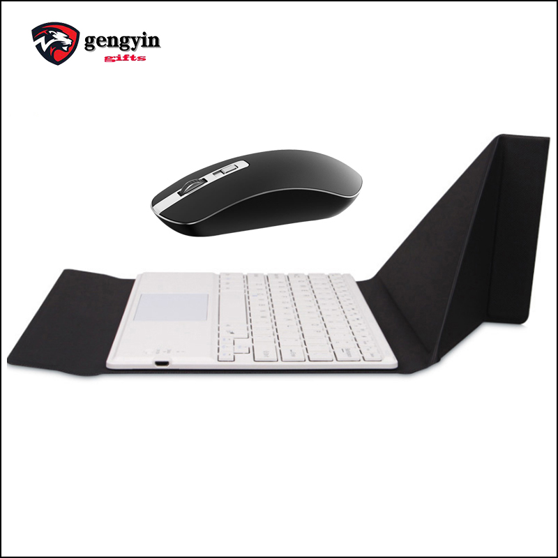 Custom wholesale pc keyboard wireless optical mouse