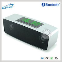 Smart APP Control Digital Wireless Bluetooth Speakers Subwoofer, Car Amplifier With Clock Alarm