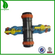 rain tape fittings cross with Valve
