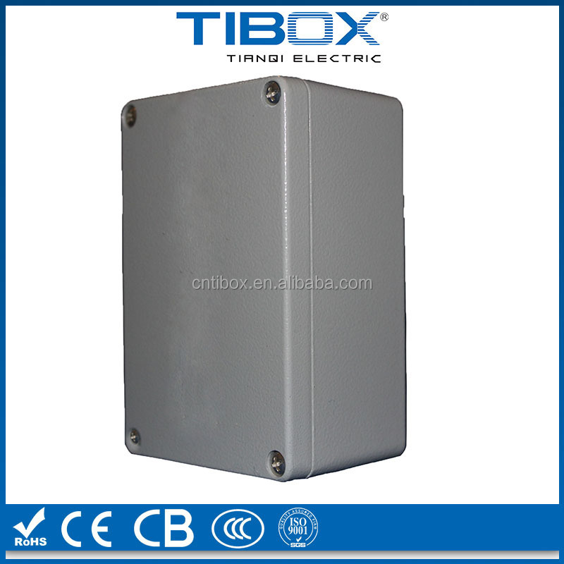 custom aluminum extruded enclosure/anodizing aluminum extrusion enclosure