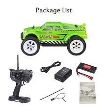 1/16 scale 9055 4WD Brushless Electric RTR off-road Truggy RC Car with 2.4G 3CH Remote Control