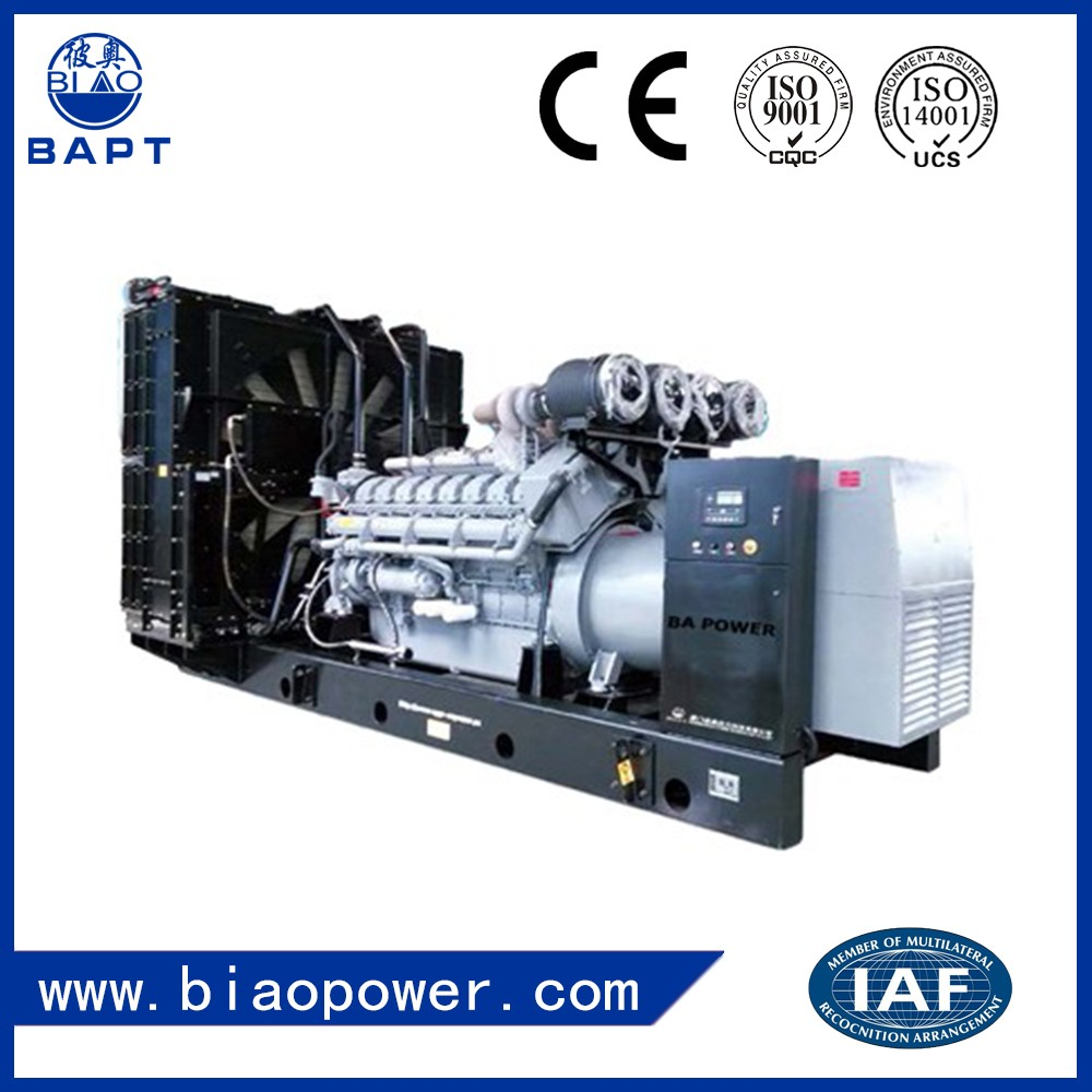 Engine Power Plant Silent Type Diesel Generator 40kva
