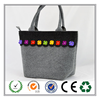 Wholesale colorful fashional women felt leisure bag made in China