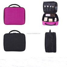 Professional Makeup Bag Cosmetic Case Storage Box Travel Carry Beauty Organizer