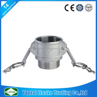 stainless steel joint camlock couplings type b female npt pipe thread x female camlock coupler