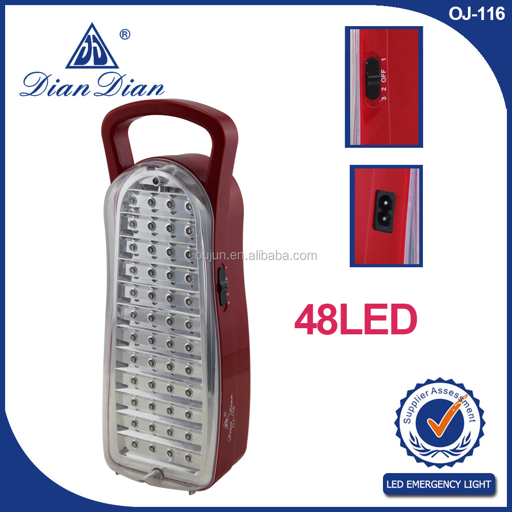 New style professional made in zhejiang factory sales led emergency charging light