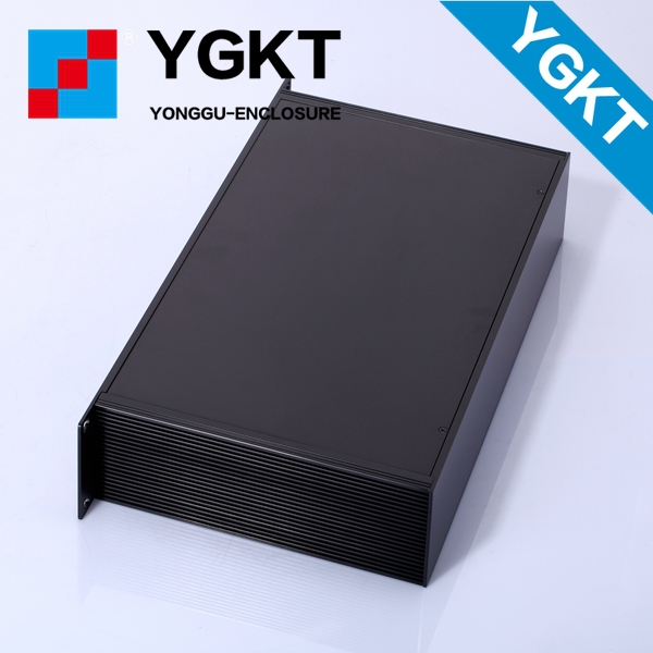 Yonggu 482*66.7*250mm High-tech Quality 1.5 U Metal Aluminumaluminium box for amplifier