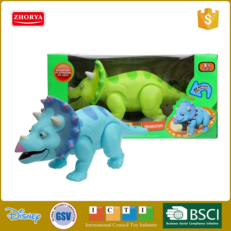battery operated animal electric baby dinosaur plastic toys
