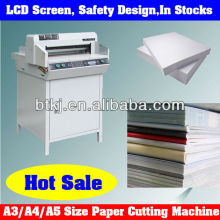 A3 Size Industrial Automatic Paper Cutters Cutting into Different Paper Size with Adjustable Control Outside,86-13137723587
