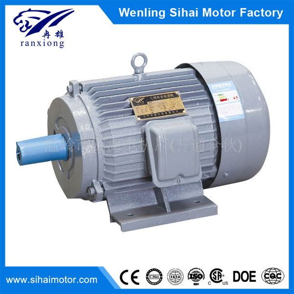 Y series waterproof three phase asynchronous 4 pole 1.1KW 1.5hp electric motor