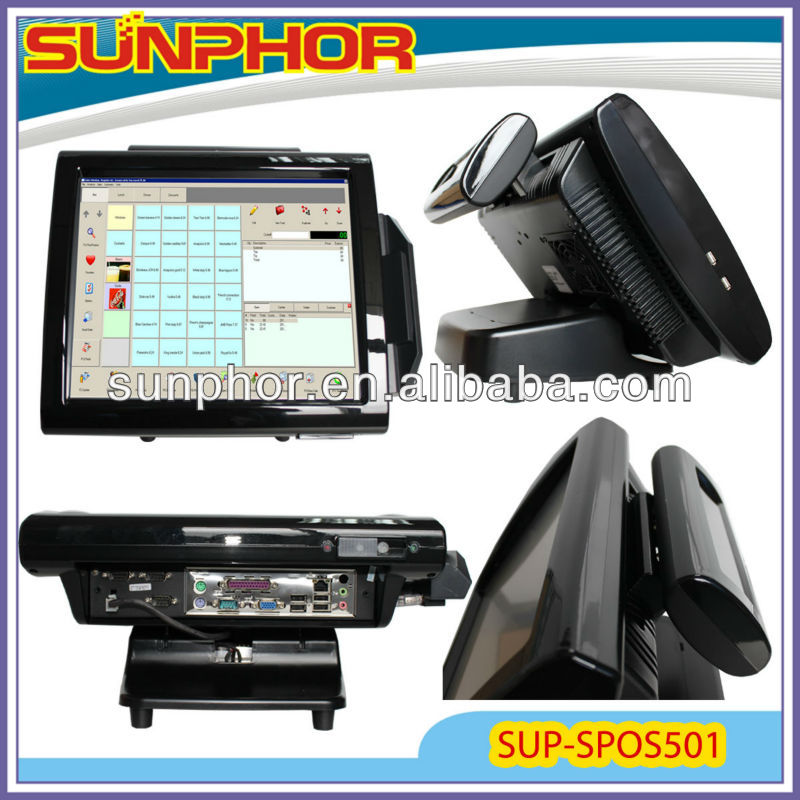 touch pos SUP-SPOS501 used in Supermarket